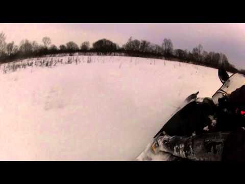 Покатушки в выходные Снегоход Arcticcat z1, Windsurf76