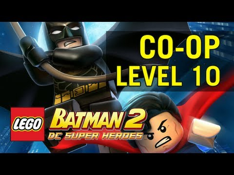 Co-op with Rachel - LEGO Batman 2 (Level 10: Down to Earth)