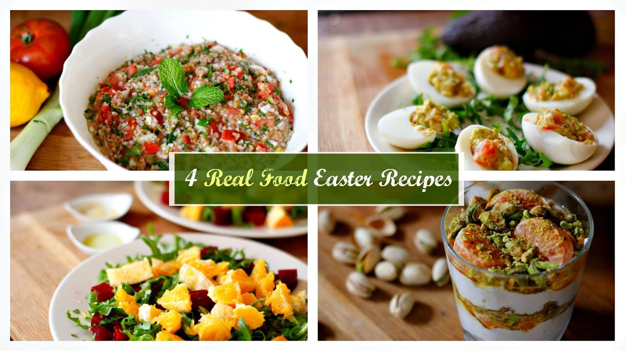 4 easy real food recipes my easter menu youtube forumfinder Choice Image