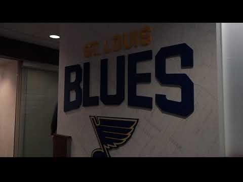 Blues show off renovated Scottrade Center, new video board
