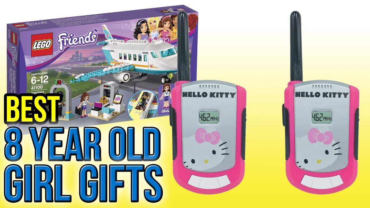 10 Best 8 Year Old Girl Gifts 2016 - YouTube