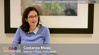 European Studies in Canada - Opportunities for young scholars - Dr. Constanza Musu