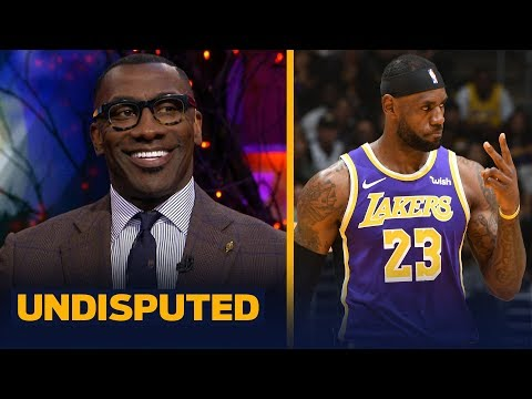 Shannon Sharpe was impressed with LeBron, Lakers wins over Jazz and Hornets   NBA   UNDISPUTED