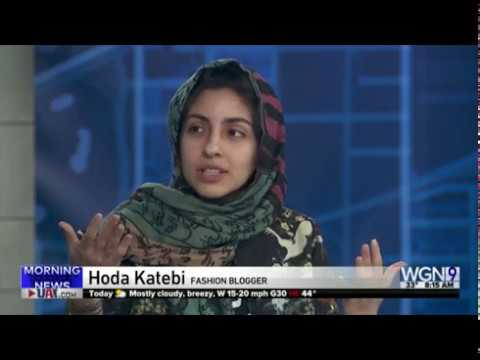 WGN Interview with Hoda Katebi on JooJoo Azad & Tehran Streetstyle