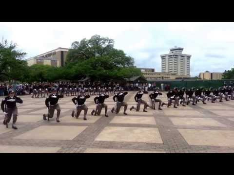 Fish Drill Team - Class Of 2018 - Parents Weekend Performance