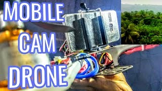 Easiest step to mount a mobile phone on the  drone HD+ ( djf450 and cc3d QUADCOPTER)