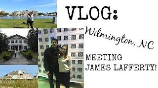 Vlog: Meeting James Lafferty, One Tree Hill Locations