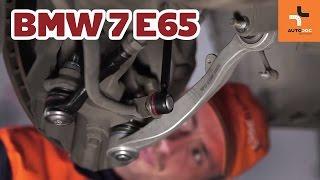 Como trocar braço inferior de suspensão dianteira BMW 7 E65 TUTORIAL | AUTODOC