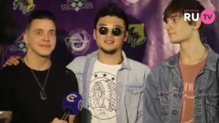 MBAND - интервью на Песне года в Минске!