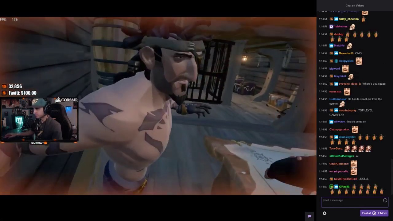 Summit1g Helps Kid Get Gold In Sea Of Thieves (Part 2 ...