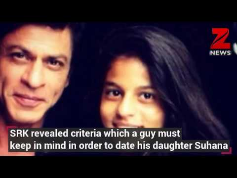 Want to date Suhana? Daddy Shah Rukh Khan has some serious rules for you