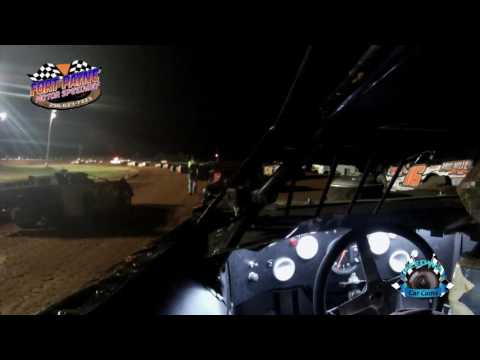 #T50 Teddy Snow - Super Late Model - 7-28-17 Fort Payne Motor Speedway - In Car Camera