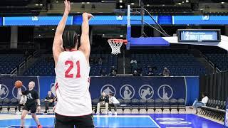 Jordan Schakel Octagon Pro Day at the NBA Combine