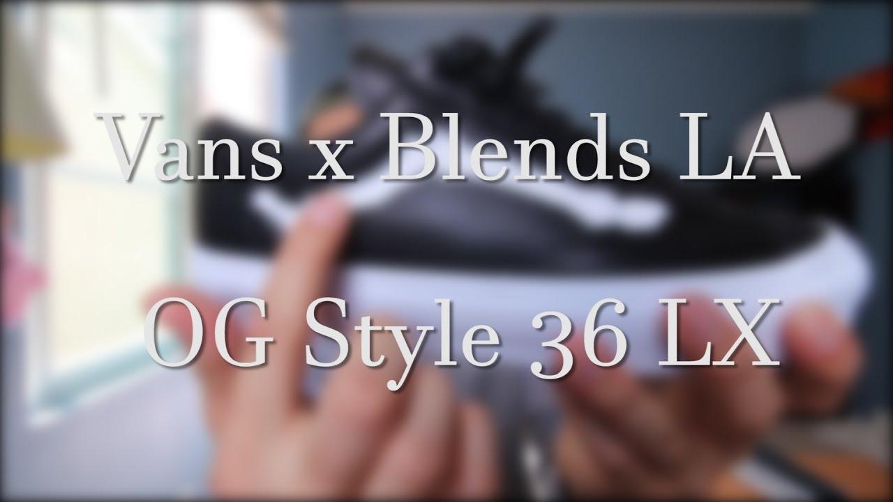 1e9a68a926 VANS X BLENDS LA