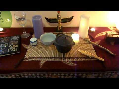 How-to: Basic Pagan Altar