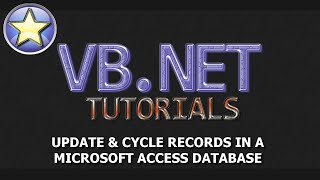 VB.NET Tutorial - Update Records In An Access Database