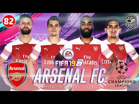FIFA 19 Arsenal Career Mode: Real Madrid Terima Tantangan Arsenal, Santiago Bernabéu Jadi Saksi #82