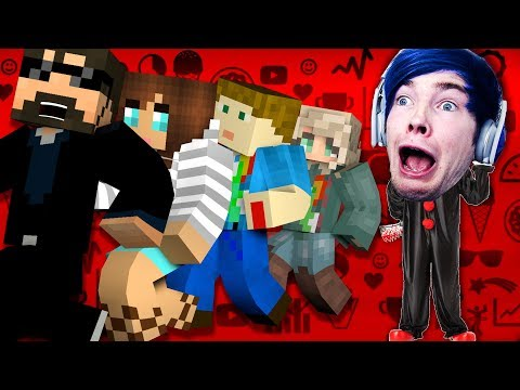 Minecraft: GAMING YOUTUBER MURDER | MODDED MINI-GAME