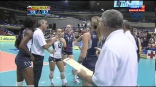 Волейбол  Женщины  Большой Чемпионский Кубок  Россия США  15 11 2013