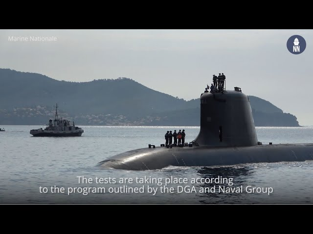 French Navy's New SSN 'Suffren' In Toulon for Weapons Systems Tests