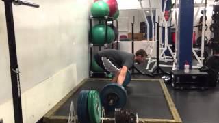 Snatch 245 pounds (111 kg)