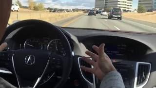 Lane Keep Assist & Adaptive Cruise Control - Acura TLX - Courtesy Acura