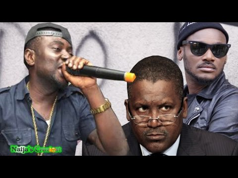 Blackface Prays Dangote Settles His Beef with Tuface and Wiz