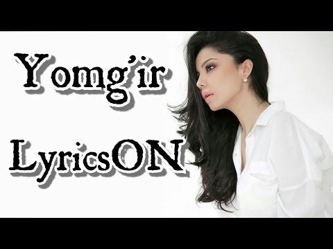 """Shahzoda """"Yomg'ir"""" lyrics"""