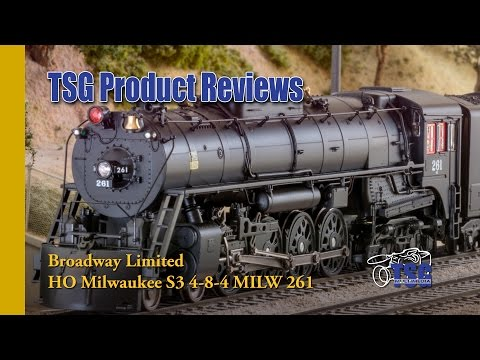 HO Scale 4-8-4 DCC Steam Locomotive Broadway Limited Product Review