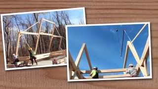 Building A Dream Barn: Saratoga Post And Beam Horse Barn By The Barn Yard & Great Country Garages