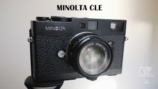 Minolta CLE - the Leica alternative