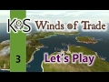 Winds Of Trade Ep 3: The Enterprise - First Look - Let's Play, Gameplay