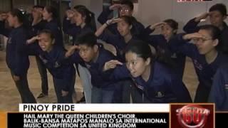 News5E | PINOY CHILDREN'S CHOIR WINS IN UK