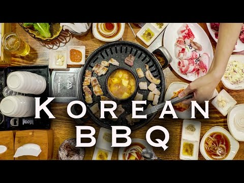 BEST KOREAN BBQ IN SEOUL | GANGAM SOUTH KOREA