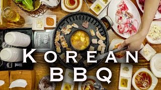 BEST KOREAN BBQ IN SEOUL | GANGNAM SOUTH KOREA