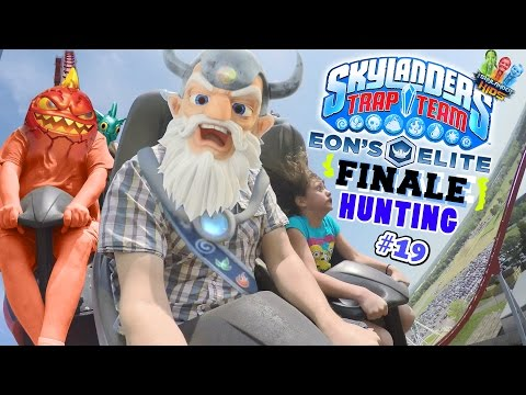 Eons Elite Finale! w/ Lexi's 1st Roller Coaster Ride! (Skylanders Trap Team Hunting Part 19) from YouTube · Duration:  17 minutes 46 seconds