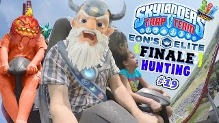 Eons Elite Finale! W/ Lexi's 1st Roller Coaster Ride! (skylanders Trap Team Hunting Part 19)
