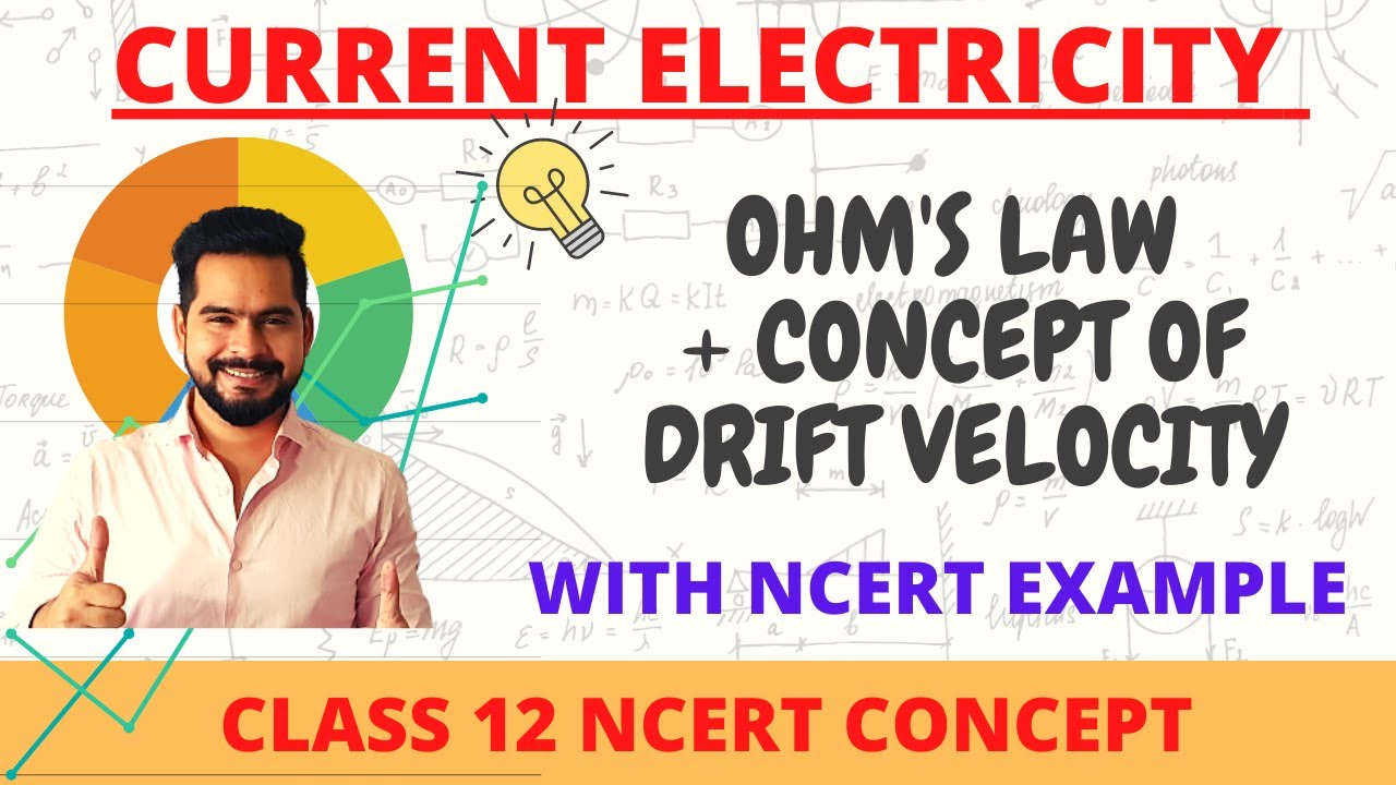 2 ohm's law || drift velocity || current electricity || board 2021