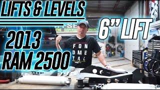 "Lifts & Levels: 2013 Ram 2500 Cummins 6"" Zone Suspension Lift"