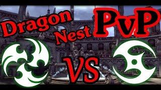 Dragon Nest ПвП Монах vs Ниндзя 40лвл (обновление, новый клас ассассин, впечатления)
