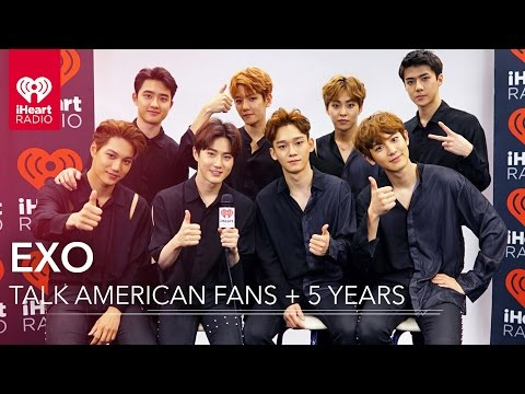 EXO On American Music + Inspiration To Fans | Exclusive Interview