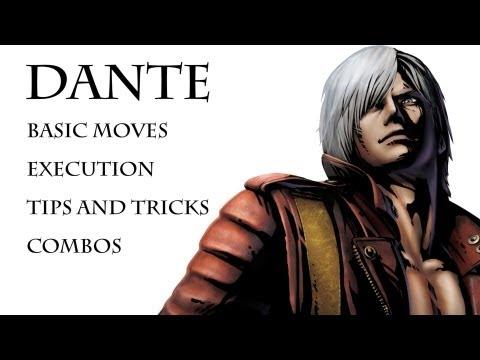 Interactive Dante Combos Umvc3