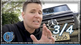 ROAD TRIP WITH ALL NEW G-WAGON FROM SOUTHERN FRANCE TO SPAIN
