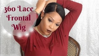 No Regular Wig | 360 Lace Frontal Wig Install | No Sew No Glue No Tape No Gel | Wow African