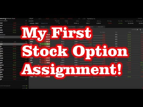 My First Stock Option Assignment! What should you Do?