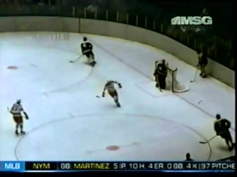 1972 Stanley Cup Final  Bruins @ Rangers Game 6 Highlights 5 11 72
