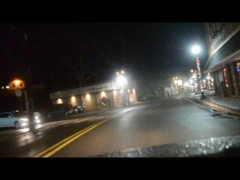 Dash cam light tour Bridgeport, WV 2016