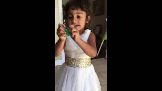 Aadhyu singing Angrezi mein kehte hai ke I love you