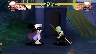 One Piece: Grand Battle! 2 [PS1] - play as Alvida