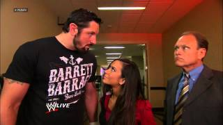 An Executive Coach evaluates Raw General Manager AJ Lee: Raw, Oct. 1, 2012